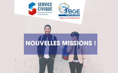 Nouvelles missions Service civique